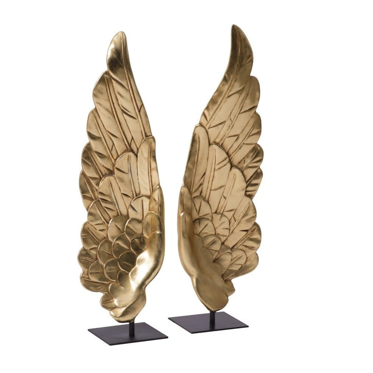 "GOLD LEAF WINGS 39"" OBJECTS"
