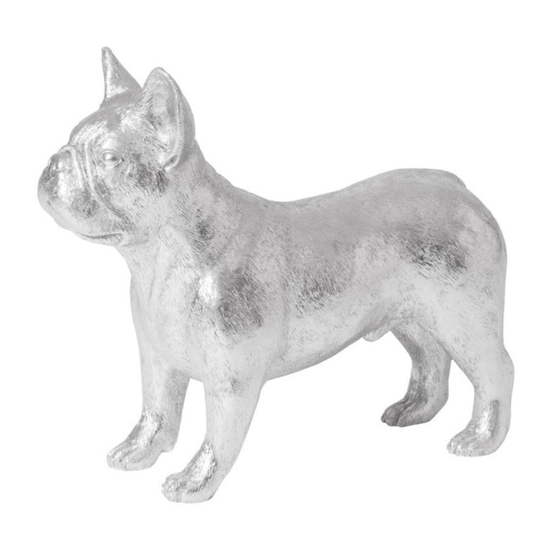 FRENCH BULLDOG, SILVER 21""