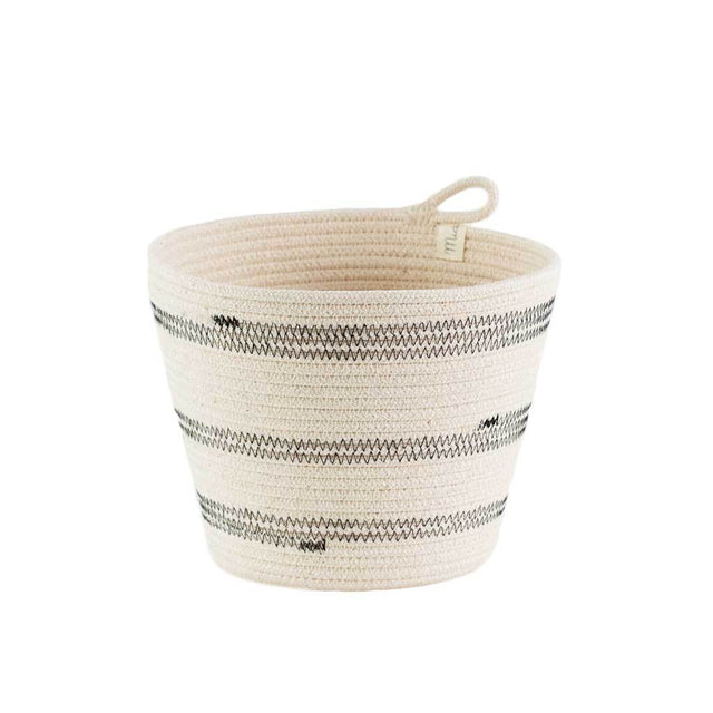 IVORY COTTON STRIPED PLANTERS (SOUTH AFRICA)