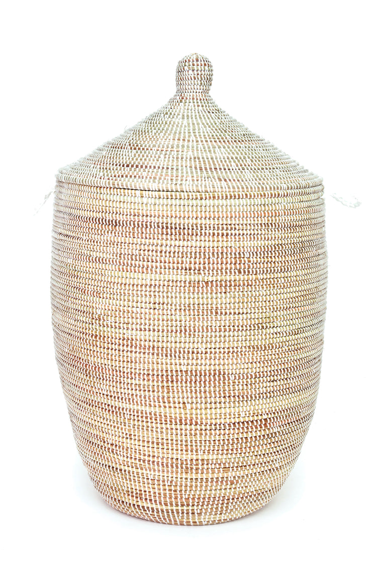 WHITE CATHEDRAL BASKETS  (SENEGAL)