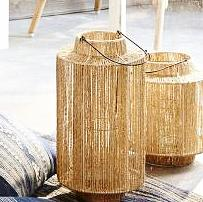 ABACA STRING LANTERNS