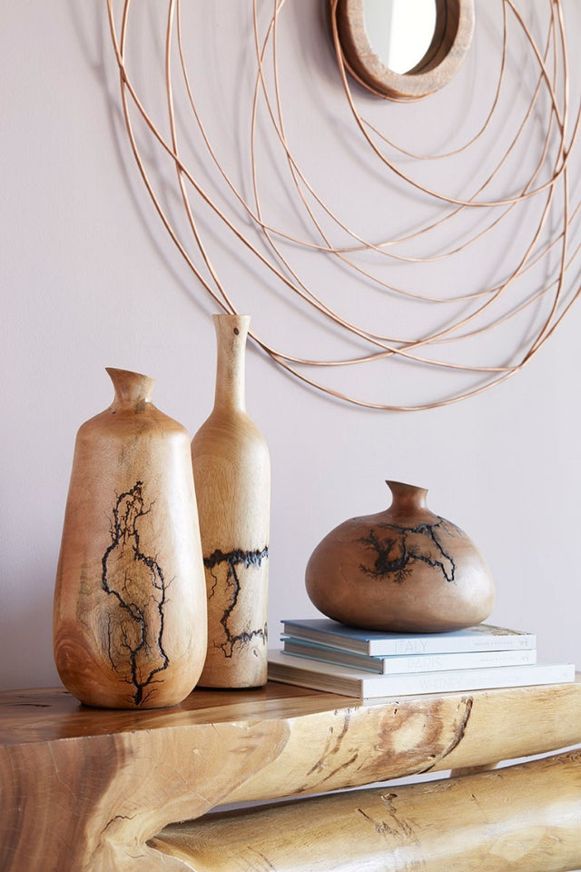 LIGHTNING BOTTLES VASES
