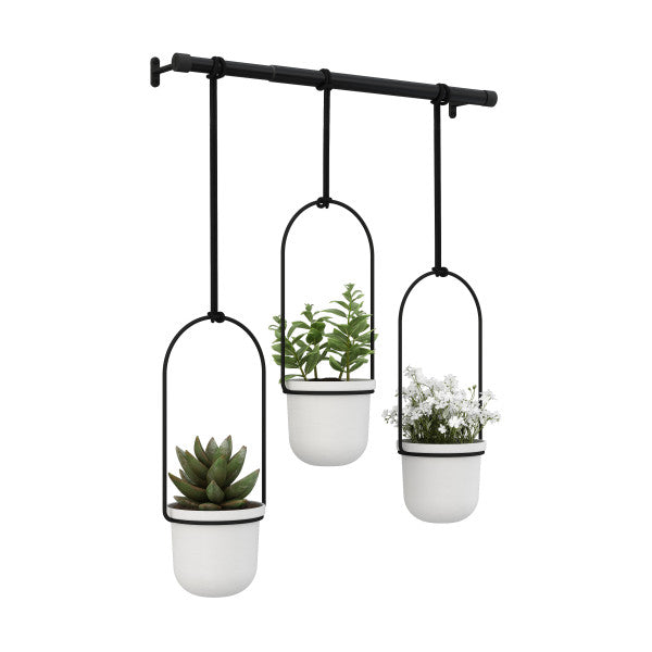 TRIFLORA HANGING PLANTER | FLORA | STAG & MANOR