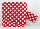 Red Polka Dot Project Bag
