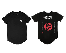 PLS&TY x Electric Family Scoop Tee - Red