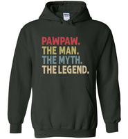 Pawpaw The Man The Myth the Legend Hoodie