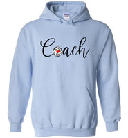Volleyball Coach Hoodie