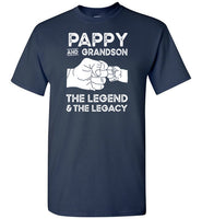 Pappy and Grandson the Legend and the Legacy Shirt for Men