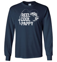 Reel Cool Pappy Long Sleeve Fishing Shirt for Men Grandpa Fishermen