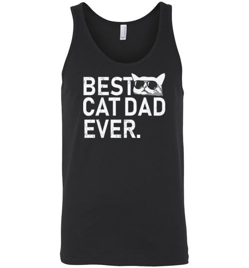 Best Cat Dad Ever Tank Top