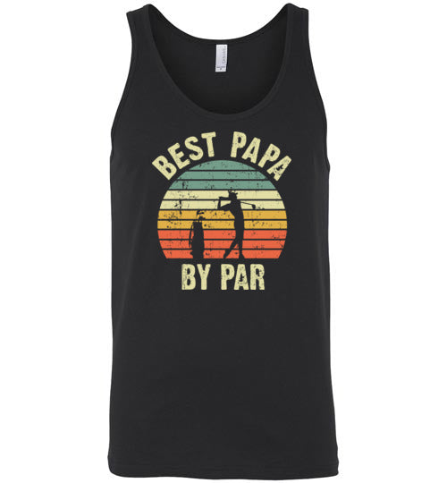 Best Papa By Par Tank Top