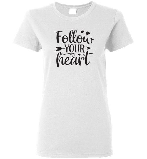Follow Your Heart Crewneck T-Shirt