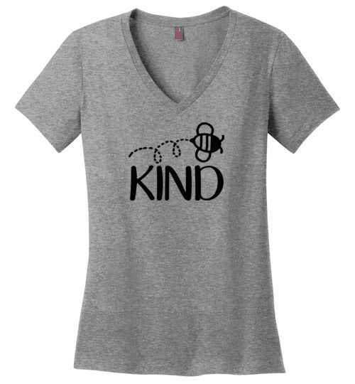 Bee Kind V-Neck T-Shirt