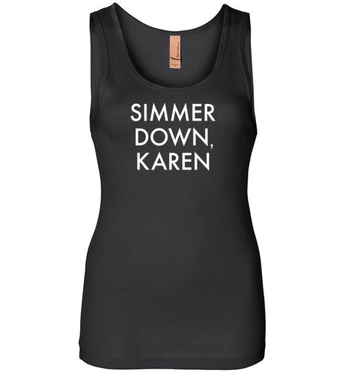 Simmer Down, Karen Tank Top for Women