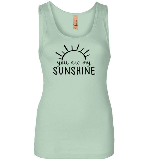 You Are My Sunshine Tank Top for Women