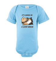 It's Guinea Be a Good Wheek Guinea Pig Body Suit for Infants