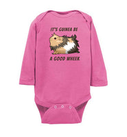 It's Guinea Be a Good Wheek Guinea Pig Long Sleeve Body Suit for Babies