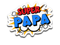 Super Papa Decal