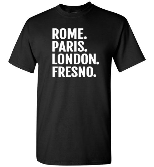 Rome Paris London Fresno Shirt for Men