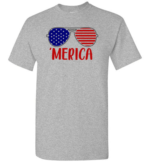 Merica Fourth of July Shirt for Men