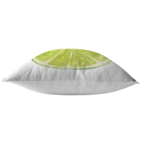 Lime Slice Throw Pillow or Cusion Cover
