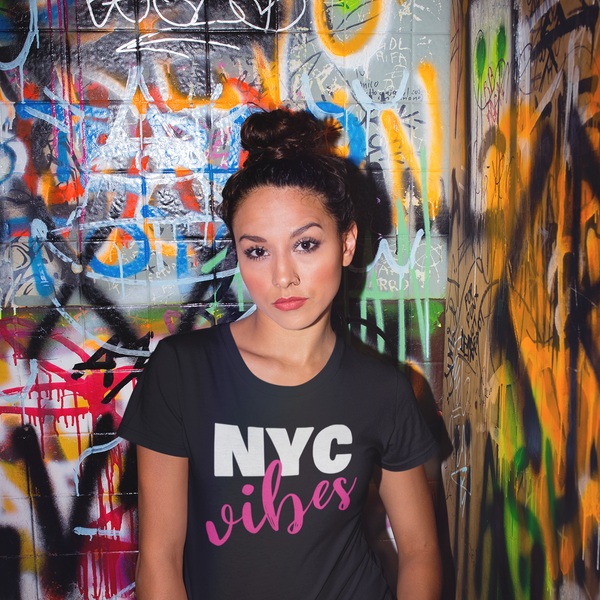 NYC Vibes New York City T-Shirt for Women