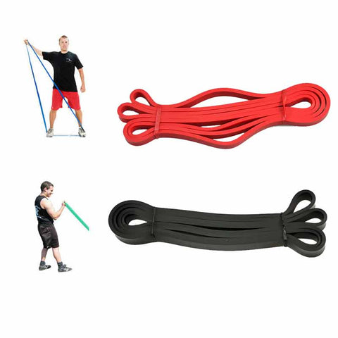Natural Latex Physio Resistance Bands Fitness Crossfit Loop Bodybulding Yoga Exercise Equipment 208cm