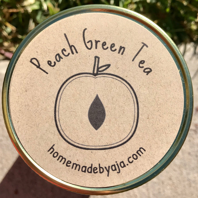 Peach Green Tea