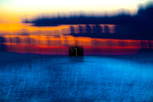 "Canvas Giclée Print Sailing into the Sunset Photograph (20"" X 30"")"