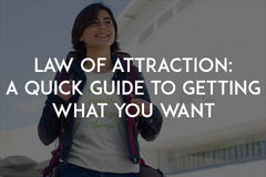 Law of attraction: A quick guide to getting what you want by In love with life