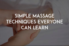 Simple massage techniques everyone can learn by In love with life