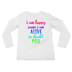 positive shirts, in love with life, positive affirmations