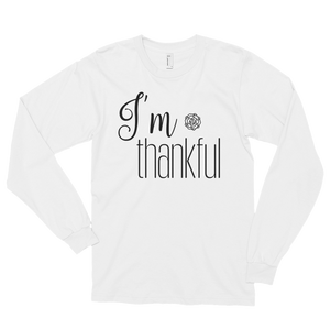 I'm thankful by in love with life, long sleeve gentleman
