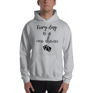 Every day is a new chance by In love with life, hoodie/ sweatshirt gentlemen grey