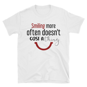 Smiling more often doesn't cost a thing