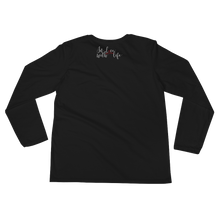 And what are you grateful for? by in love with life, black long sleeve ladies, back