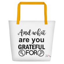 And what are you grateful for?