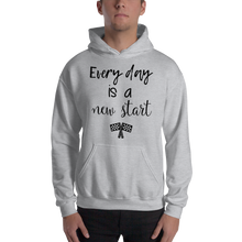 Every day is a new start by In love with life, hoodie/ sweatshirt gentlemen grey