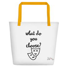 What do you choose? by in love with life, bag, yellow handle