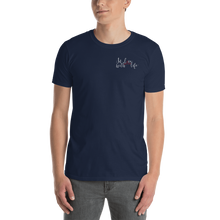 In love with life by In love with life, shirt/ short sleeve/ t-shirt gentlemen, small logo in love with life, navy