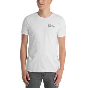 In love with life by In love with life, short sleeve/ shirt/ t-shirt gentlemen, white, small in love with life logo