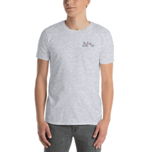 In love with life by In love with life, short sleeve/ shirt/ t-shirt gentlemen, sport grey, small in love with life logo