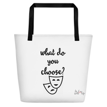 What do you choose? by in love with life, bag, black handle