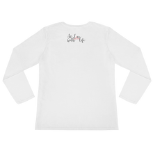 It's YOUR life. Do what YOU want to do. by in love with life, white long sleeve ladies back
