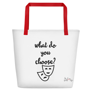 What do you choose? by in love with life, bag, red handle