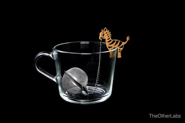 Zev the Zebra Tea Infuser