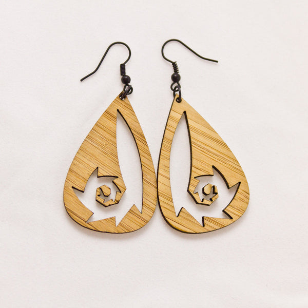 Spiral Dangle Earrings Ying