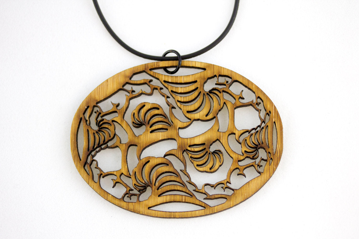 Thunderstorm Statement Necklace