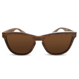 Zebra Wood Sunglasses - Organic Optics Co.