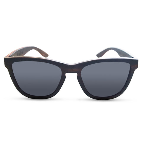 Ebony Wood Sunglasses - Organic Optics Co.